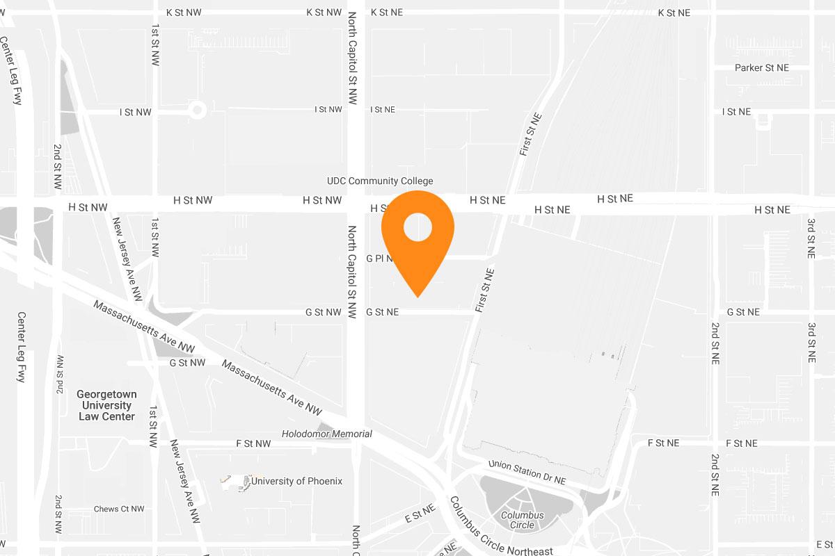 Union Station location map