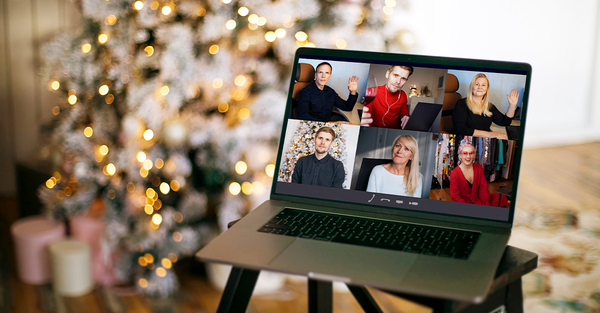 virtual holiday party
